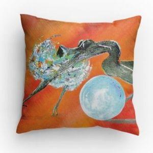 Media By Medina Accents - 🍾HP Artist print decorative throw pillow 14x14 🆕
